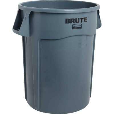 Rubbermaid Commercial Brute 44 Gal. Plastic Commercial Trash Can