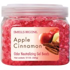 Smells Begone 12 Oz. Gel Beads Apple Cinnamon Odor Neutralizer Image 1