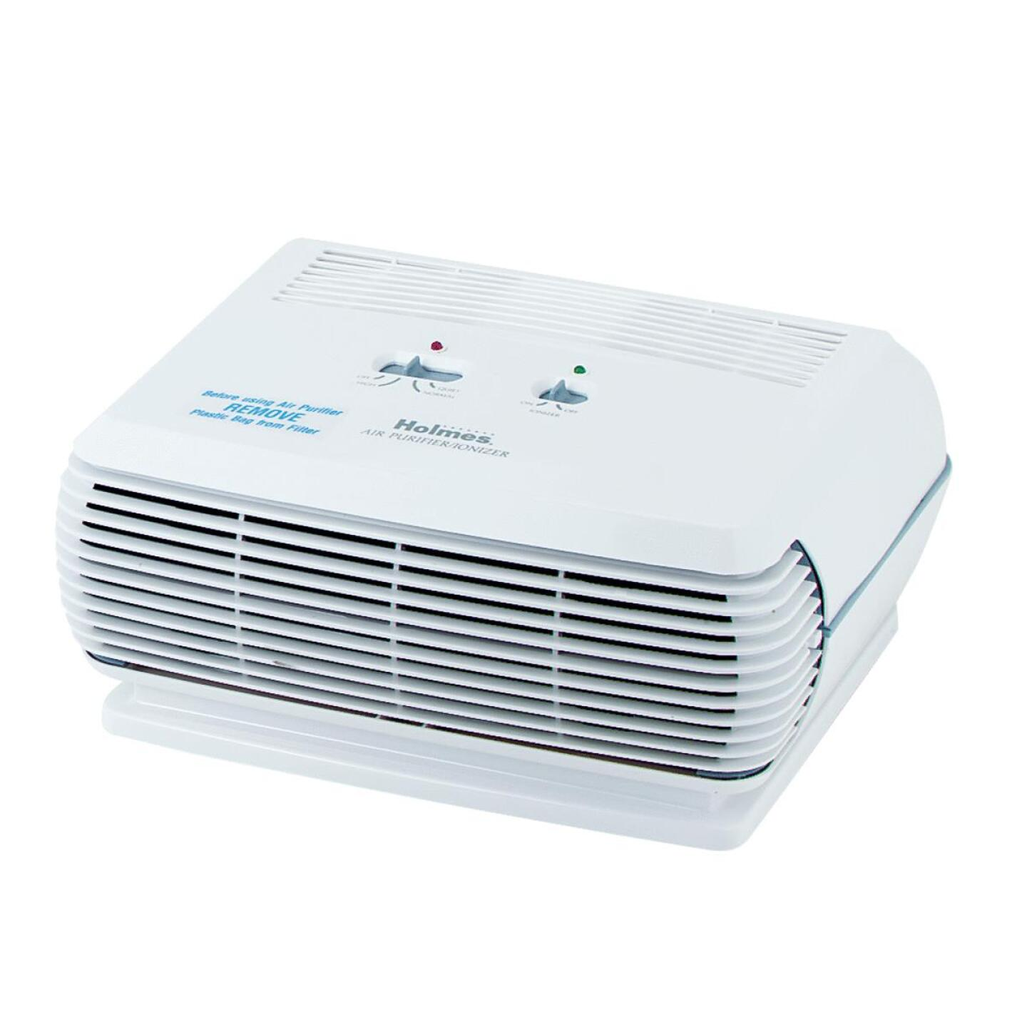 Holmes Harmony HEPA 110 Sq. Ft. White Tabletop Air Purifier Image 1