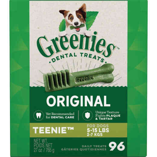 Greenies Teenie Toy Dog Original Flavor Dental Dog Treat (96-Pack)