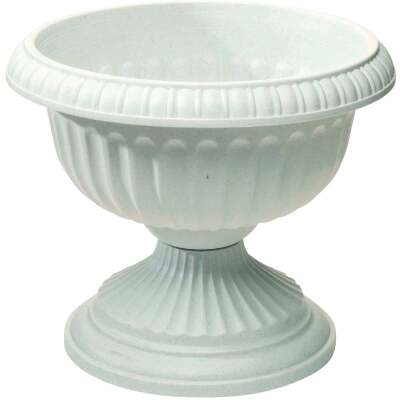 Novelty 12 In. W. x 11 In. H. x 12 In. L. Poly Stone Urn