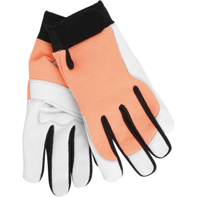 Midwest Gloves & Gear Women's Small Goatskin Leather Work Glove