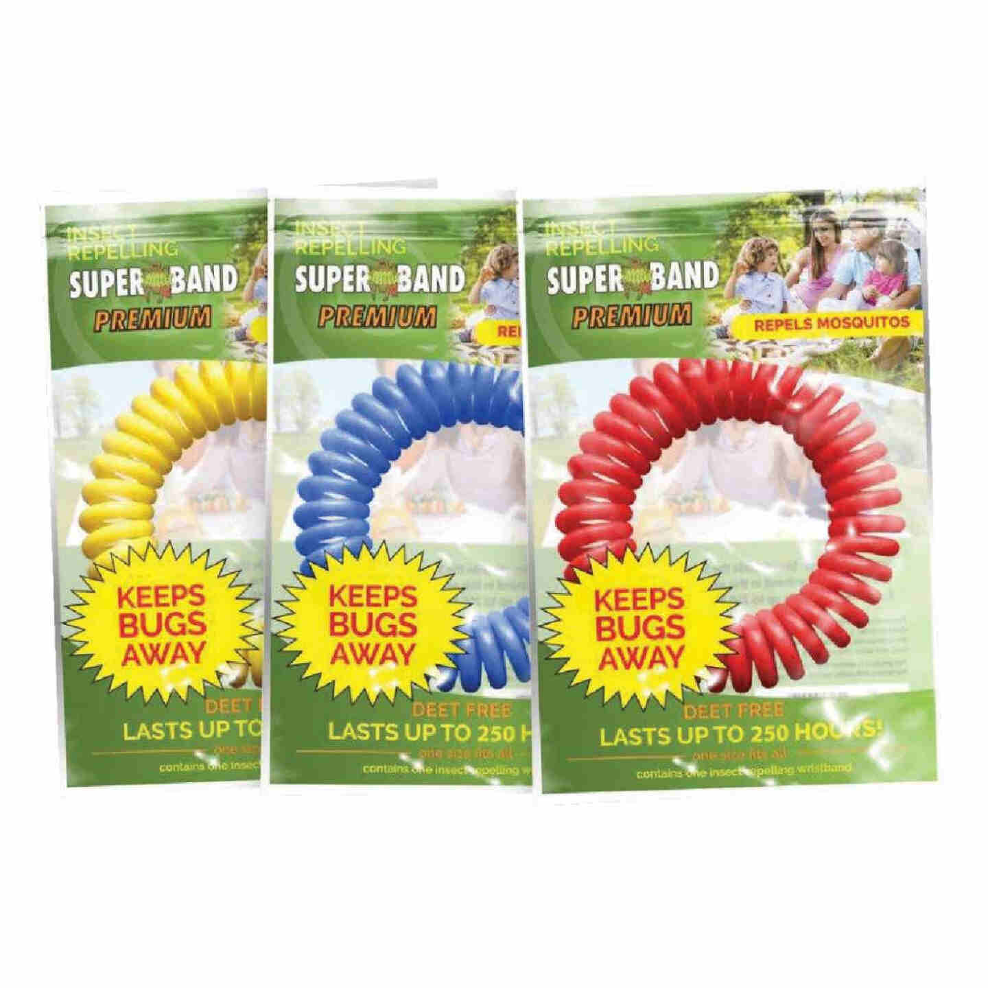 Super Band 250 Hr. Assorted Color Insect Repelling Wristband Image 1