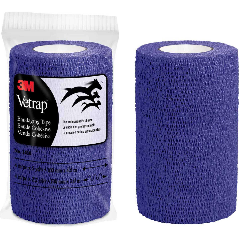 3M Vetrap 4 In. x 5 Yd. Purple Bandaging Wrap Image 1