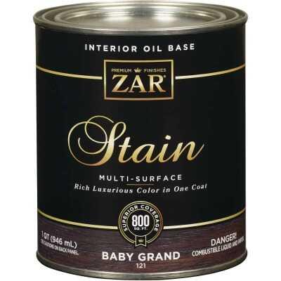 ZAR Oil-Based Wood Stain, Baby Grand, 1 Qt.