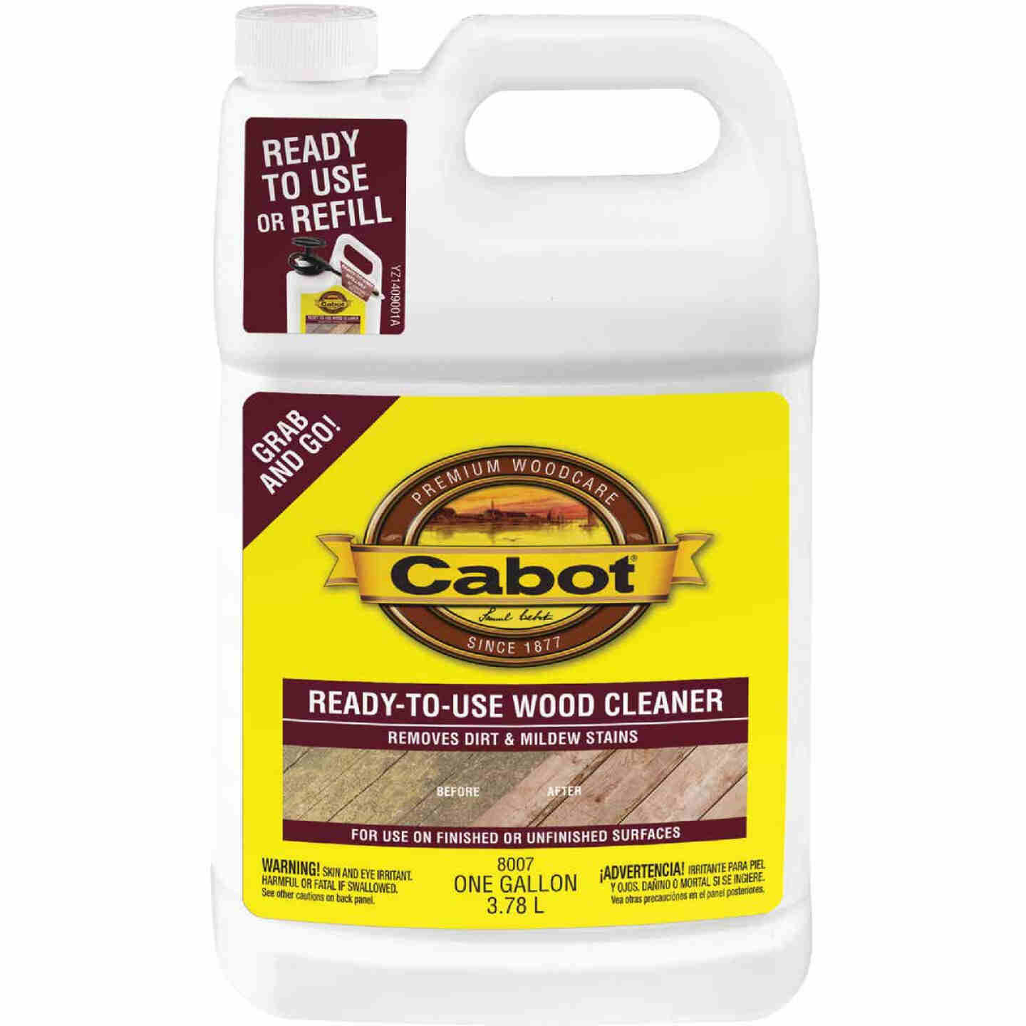 Cabot 1 Gal. Ready-To-Use Wood Cleaner Image 1