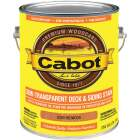 Cabot Semi-Transparent Deck & Siding Exterior Stain, Redwood, 1 Gal. Image 1