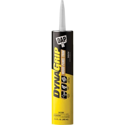 DAP DYNAGRIP 10.3 Oz. Wood-Panel-Trim Construction Adhesive