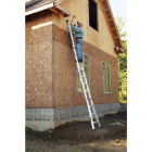 Werner 17 Ft. Aluminum Multi-Position Telescoping Ladder with 300 Lb. Load Capacity Type IA Ladder Rating Image 2