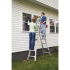 Werner 17 Ft. Aluminum Multi-Position Telescoping Ladder with 300 Lb. Load Capacity Type IA Ladder Rating Image 5