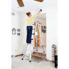 Werner 17 Ft. Aluminum Multi-Position Telescoping Ladder with 300 Lb. Load Capacity Type IA Ladder Rating Image 4