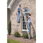 Werner 22 Ft. Aluminum Multi-Position Telescoping Ladder with 300 Lb. Load Capacity Type IA Ladder Rating Image 2