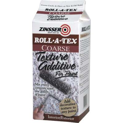 Zinsser Roll-A-Tex Coarse Texture Additive, 1 Lb.
