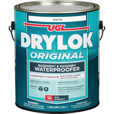 Drylok White Latex Masonry Waterproofer, 1 Gal.