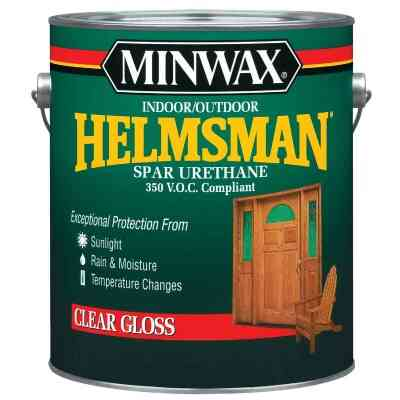 Minwax Helmsman VOC Gloss Spar Interior & Exterior Varnish, Gallon