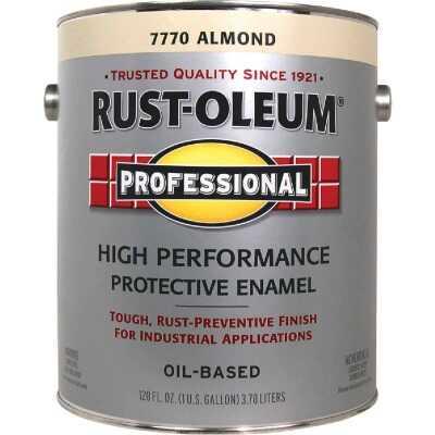 Rust-Oleum Professional Oil-Based Gloss VOC Formula Rust Control Enamel, Almond, 1 Gal.