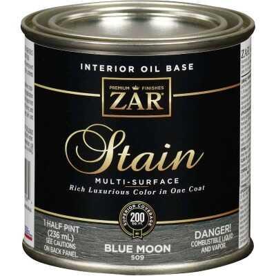 Zar 1/2 Pt. Blue Moon Oil-Based Multi-Surface Interior Stain