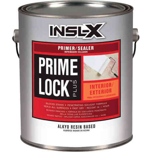 Insl-X Prime Lock Plus 1 Gal. White Alkyd Resin Primer Sealer