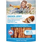 Ruffin' it Healthfuls Chicken Flavor Jerkey Dog Treat, 5 Oz. Image 1