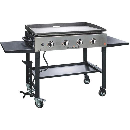 Blackstone 4-Burner Stainless Steel 60,000-BTU LP Gas Griddle