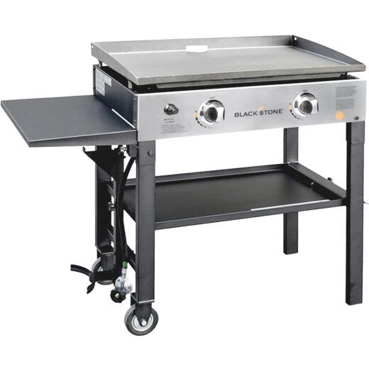 Blackstone 2-Burner Stainless Steel 34,000-BTU LP Gas Griddle