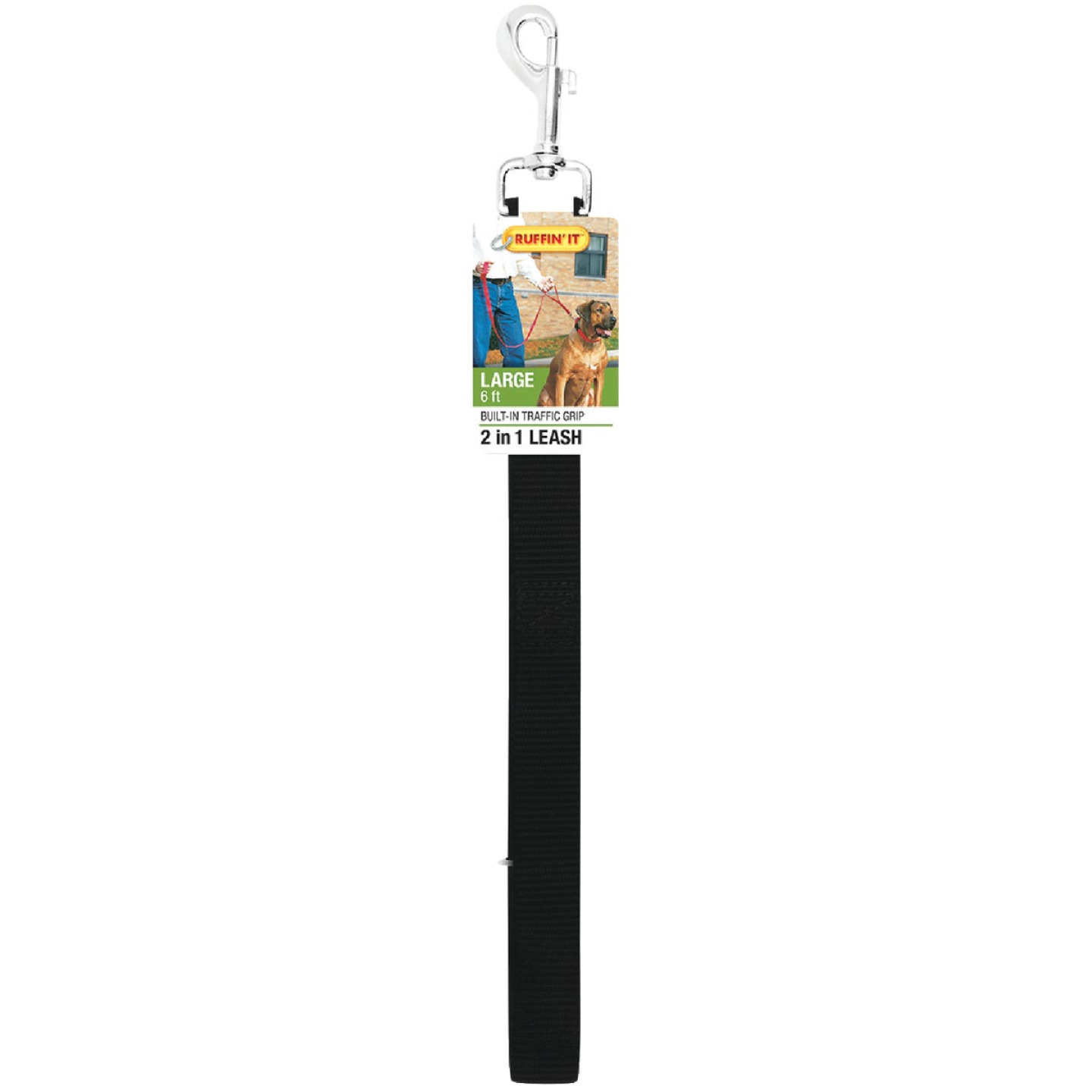 Westminster Pet Ruffin' it 6 Ft. Dog Leash Image 2