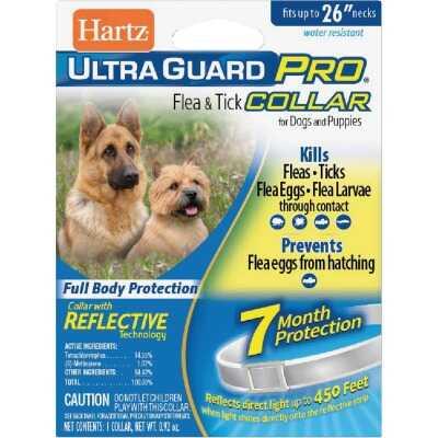 Hartz UltraGuard Pro Flea & Tick Water Resistant Reflective Collar For Dogs & Puppies