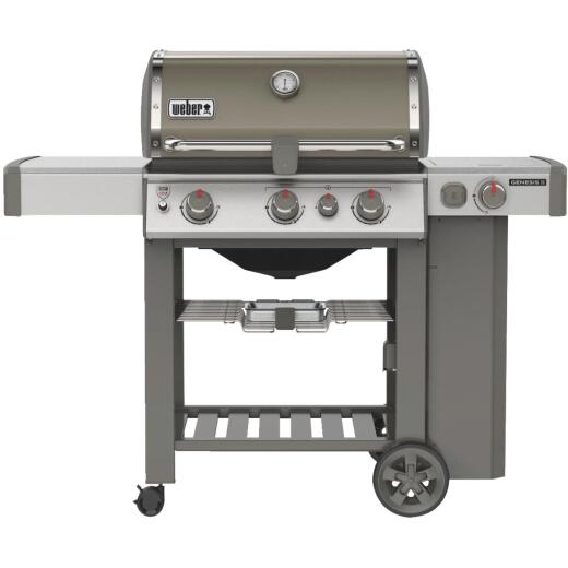 Weber Genesis II SE-330 3-Burner Smoke 39,000 BTU LP Gas Grill with 12,000 BTU Side Burner