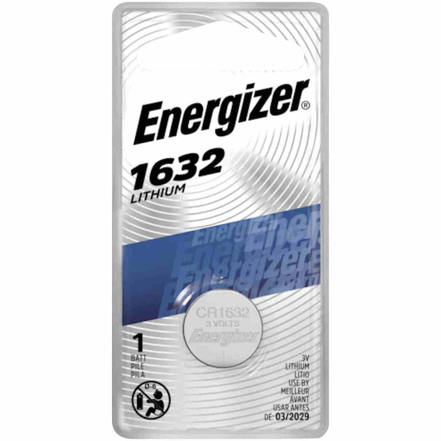 Energizer 1632 Lithium Coin Cell Battery Image 1