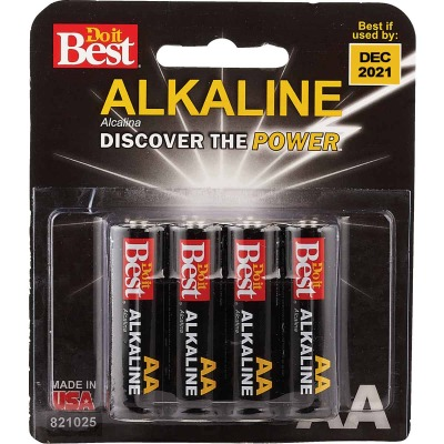 Do it Best AA Alkaline Battery (8-Pack)