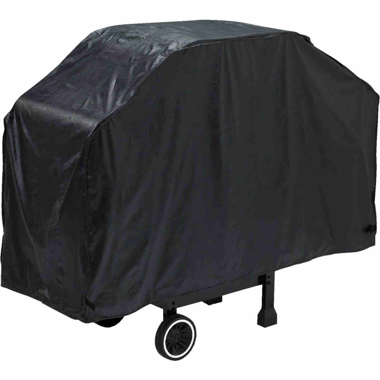 GrillPro Economy 60 In. Black Vinyl Grill Cover Image 1