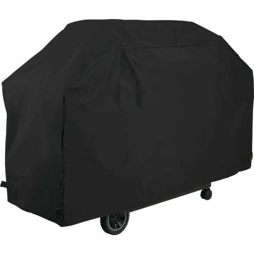 GrillPro 70 In. Black PVC Deluxe Grill Cover