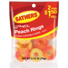 Gurley's 2.5 Oz. Peach Rings Image 1