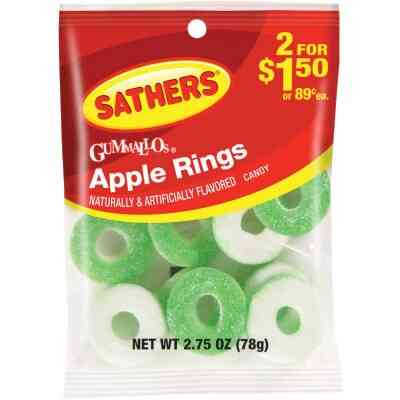 Gurley's 2.5 Oz. Apple Rings