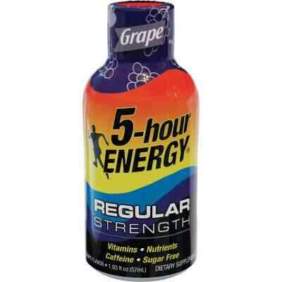 5 Hour Energy 1.93 Oz. Grape Flavor Energy Drink