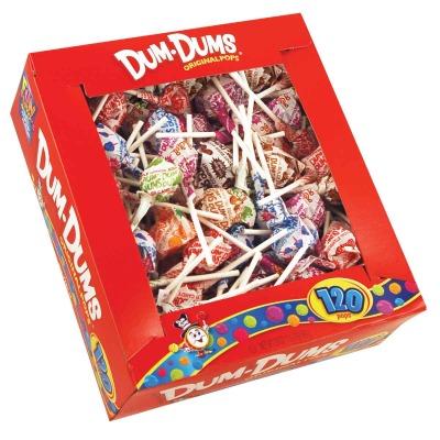 Dum Dum Pops Assorted Flavors (120-Count)