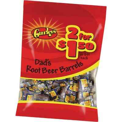 Gurley's 2.5 Oz. Dad's Root Beer Barrels