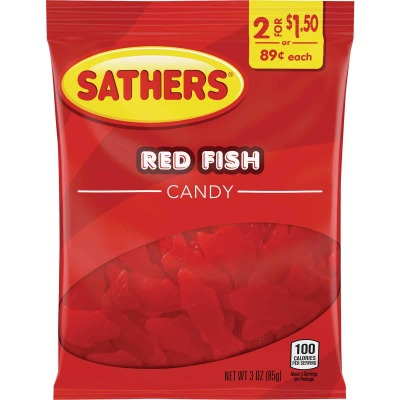 Sathers 3 Oz. Red Fish